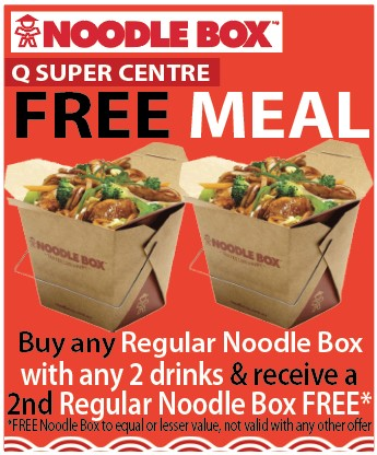 Noodle Box Q Super Centre_Buy one GET 1 FREE